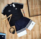 Mens shorts combo pair-black edition