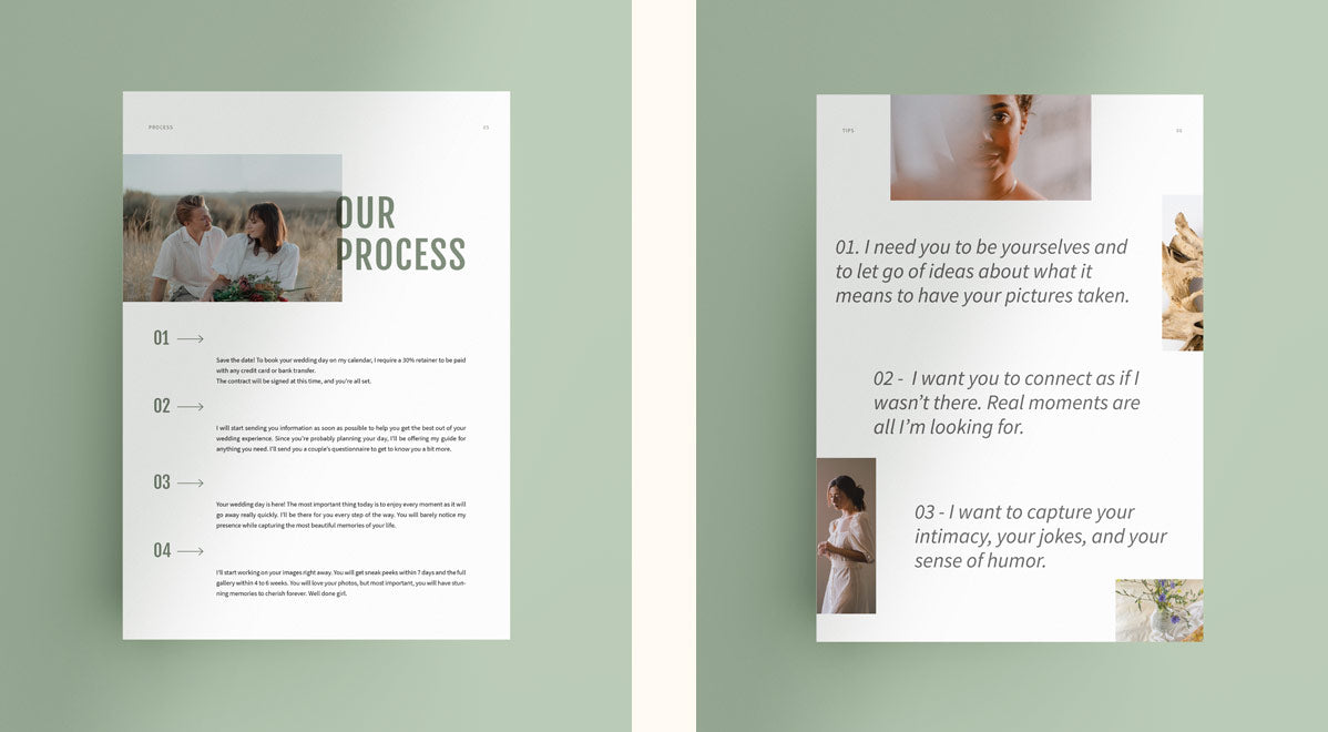 wedding photography pricing and welcome guide