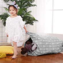 Load image into Gallery viewer, Portable sofa bag as a large storage bag for collecting toys