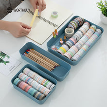 Load image into Gallery viewer, Plastic Storage For Makeup Clothes Desktop Organizer Box