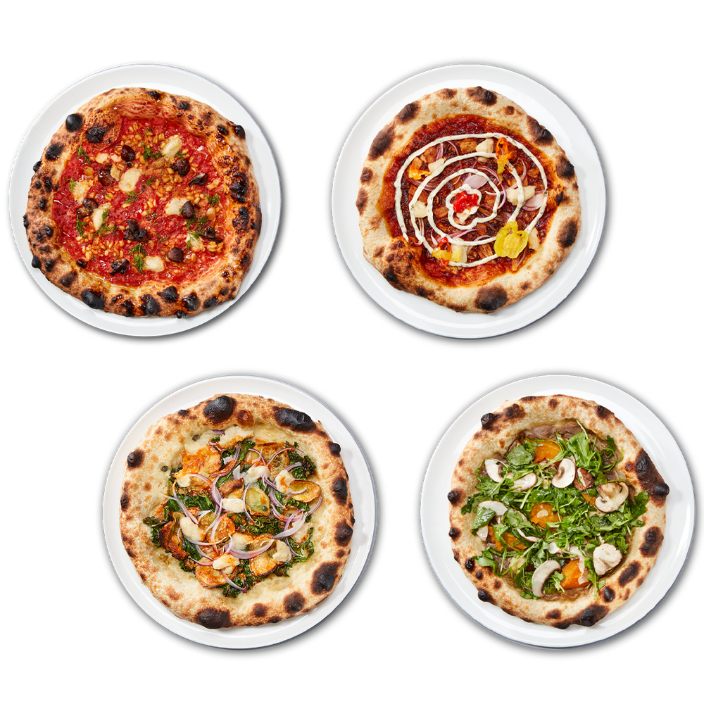 Load image into Gallery viewer, CREATE YOUR OWN - 4 PIZZA PACK