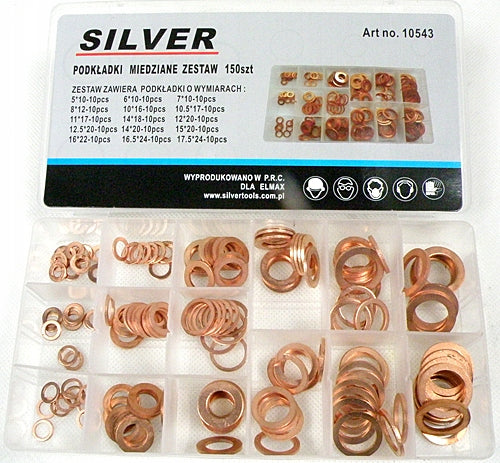 COPPER COASTERS SET 150pcs WASHER