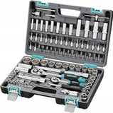 SET OF SOCKET WRENCH 94 PCS. 1/2 1/4 STELS
