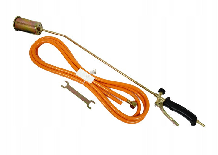 LONG ROOFING GAS BURNER FOR PAPER 85CM + HOSE