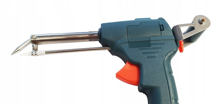 TRANSFORMER SOLDERING IRON WITH TIN FEEDER