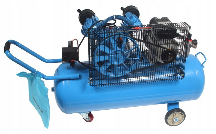 DOUBLE-PISTON OIL COMPRESSOR 100L