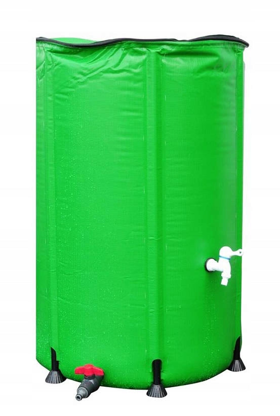 FOLDING TANK FOR RAINWATER WATER FROM GUTTER 1000L