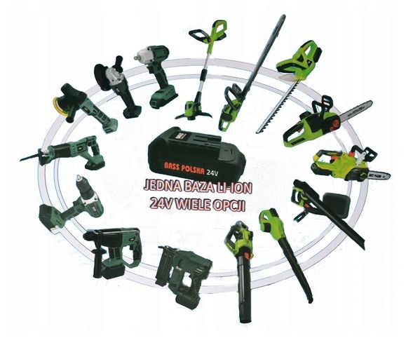 MULTI BATTERY MOWER SHEARS + CHAIN SAW
