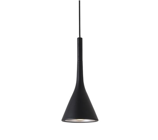 Lights of Scandinavia - Moderna - Nordic modern pendant light.  Clean design, aluminum body and adjustable cord length of up to 150cm. E27 Base.  Available in several colors.