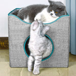 Load image into Gallery viewer, Cat Cave Bed - Cat Box Bed & Cat Cube