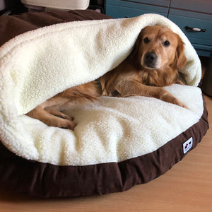 Calming Dog Bed - Cozy Cave Bed