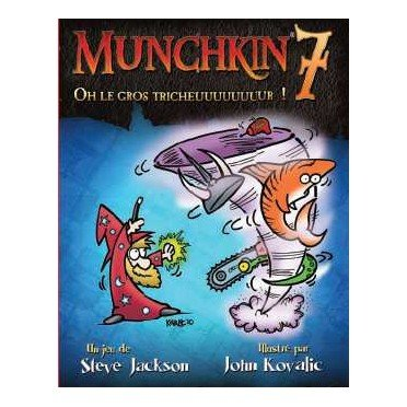 Munchkin 7 : Oh le Gros Tricheuuuuuuuur ! (Extension)