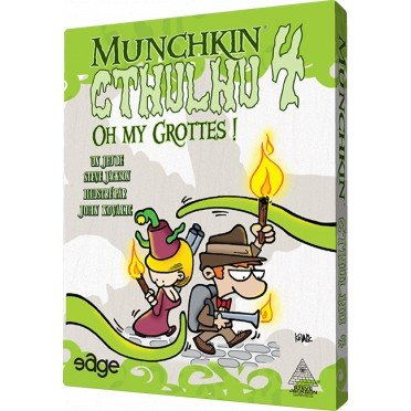 Munchkin Cthulhu 4 : Oh my Grottes ! (Extension)
