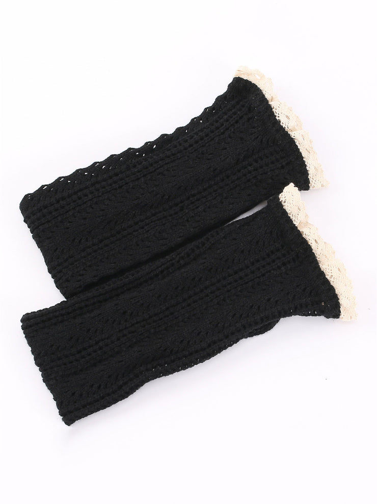 3 Pairs Japanese Mesh Lace Hollow Fall Winter Socks