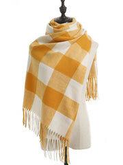Simple Korean Shawl Fleece Cashmere Scarf
