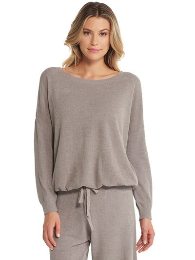 Cozychic Ultra Lite Slouchy Pullover Beach Rock