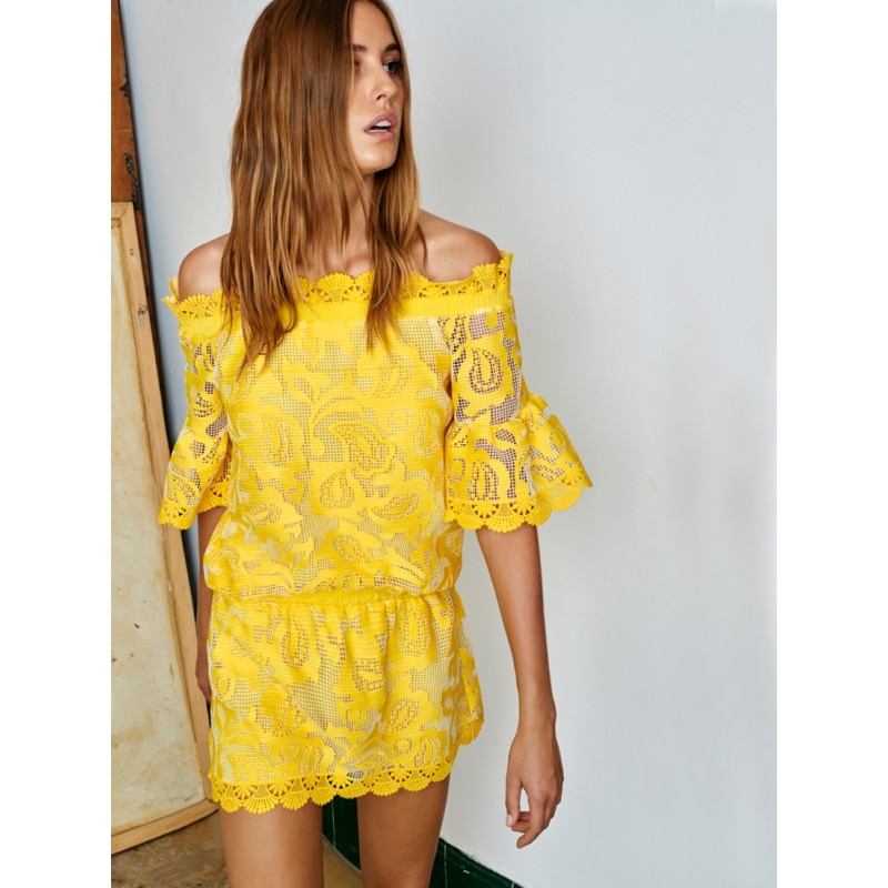 alexis-clothing-kit-dress-yellow-lace-off-the-shoulder-1