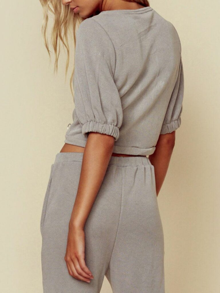 KADEE JOGGER GREY by  BLUE LIFE