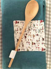 Load image into Gallery viewer, Canvas Christmas Apron