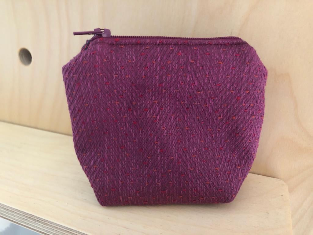 Handcrafted Small Fabric Pouches