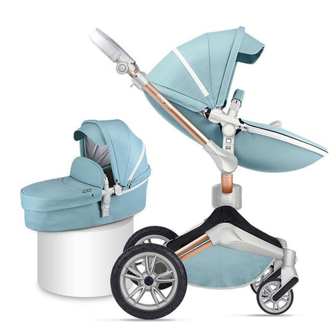 light-blue-kid-stroller