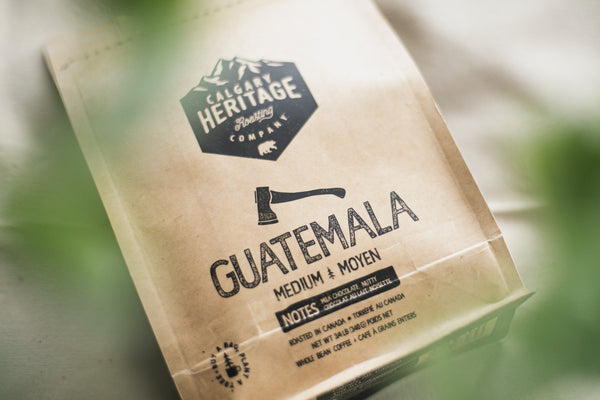 Guatemala Coffee Beans By Calgary Heritage Roasting Co.