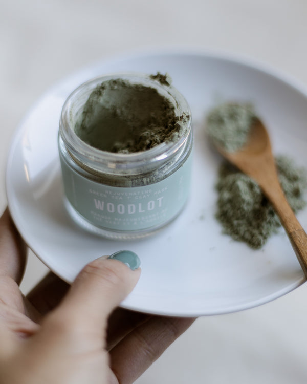 Rejuvenating Green Tea Clay Mask by Woodlot