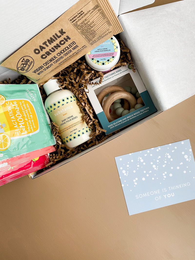 Mama and New Baby Gift Box