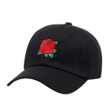 new Red Rose Flower Baseball Cap Women Snapback Cap With Dad Hat Female Hip Hop Sun Summer brand cap hats wholesale