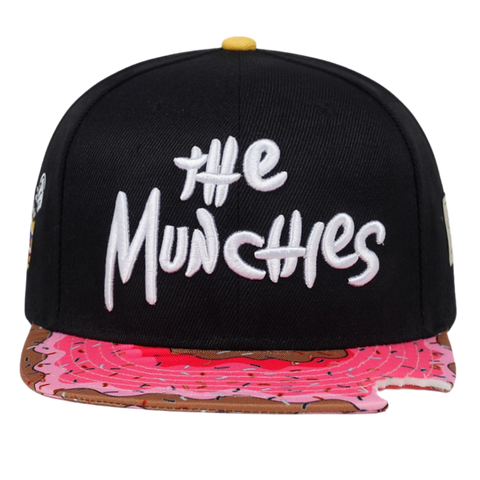 TUNICA Brand MUNCHIES CAP snacks pink snapback hat men women adult hip hop Headwear outdoor casual sun baseball cap gorras bone