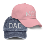 Set Mom/Dad Caps 🧢 - Cap On Way