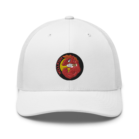 """Hell Fish"" 🦈 Cap - Cap On Way"