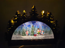 Load image into Gallery viewer, Led Musical Christmas Scene wdl20101b