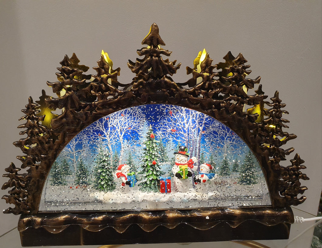 Led Musical Christmas Scene wdl20101b