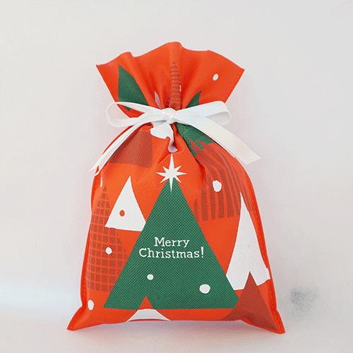 Red Merry Christmas Sack