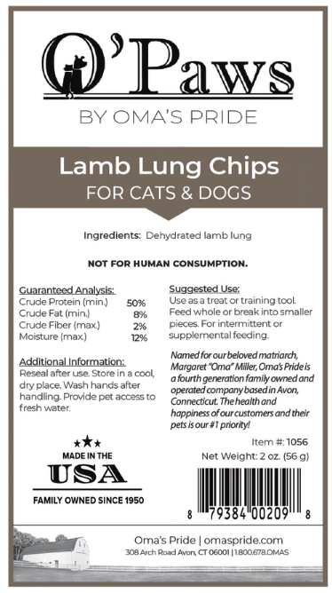 Lamb Lung Chips