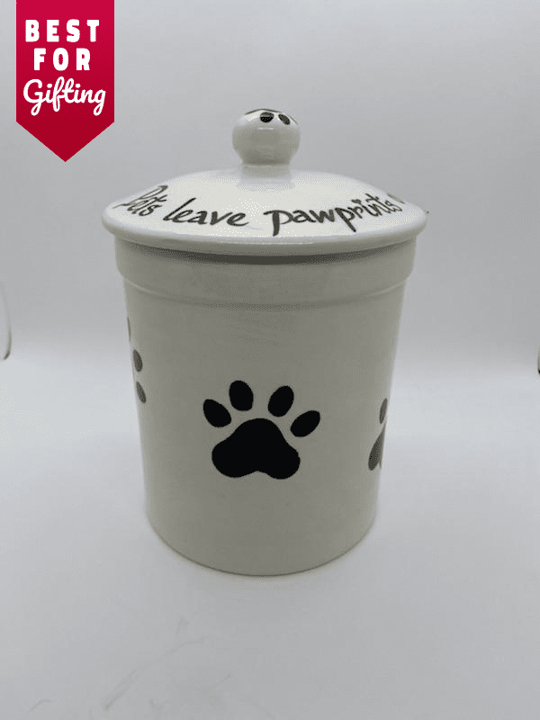 Paw Print Cookie Jars
