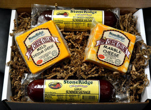 Cheese and Sausage Gift Box | StoneRidge Meats & Cheeses