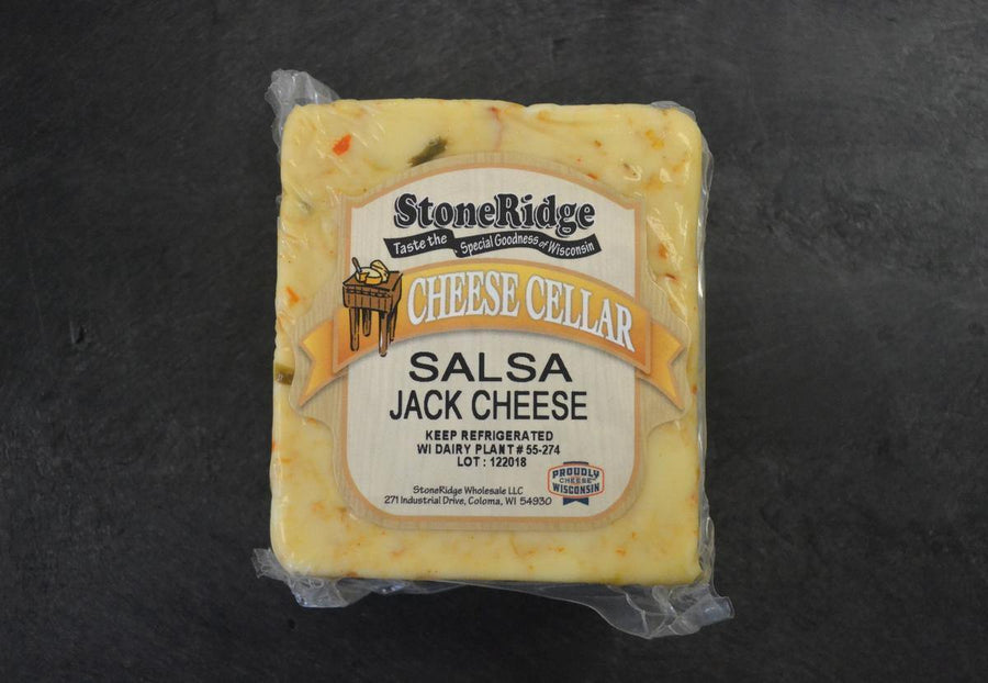 Salsa Monterey Jack Cheese | StoneRidge Meats & Cheeses