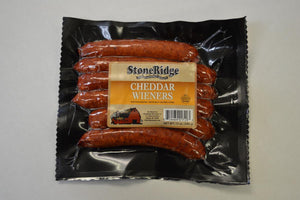 Cheddar Wieners  | StoneRidge Meats & Cheeses