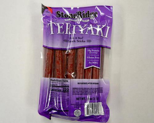 Teriyaki Sticks (16 oz/sticks) - StoneRidge Meats