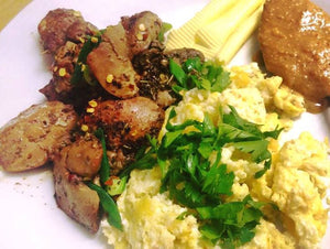 Lazy girls chicken Livers by Candice Mncwabe