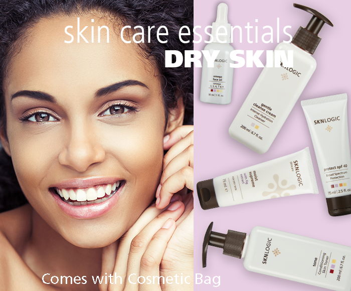 SKN Essentials Dry Skin Kit