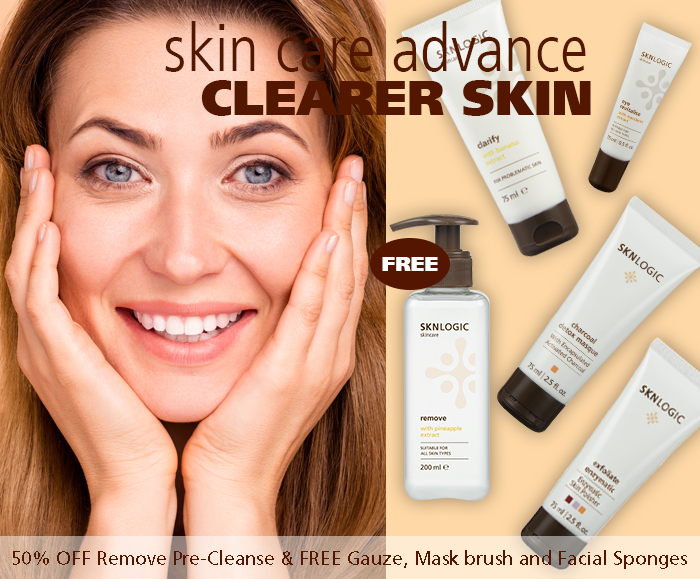 SKN Advanced Clearer Skin Kit