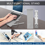 Premium Aluminum Adjustable Laptop Stand
