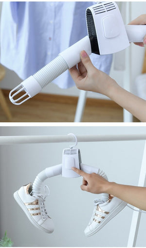 Umate Portable Clothes And Shoe Dryer Hanger ,Small Hanging Drying Rack