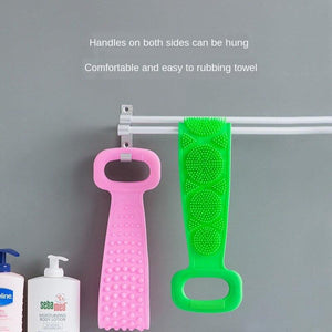 Silicone Double-Sided Back Scrubber