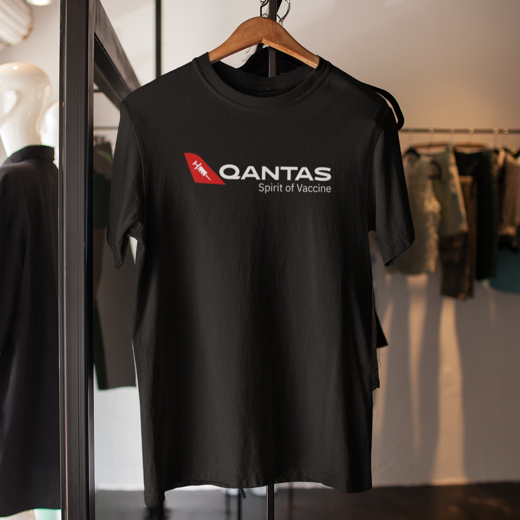 Free Shipping - Qantas Sprit of Vaccine  - Unisex T-Shirt