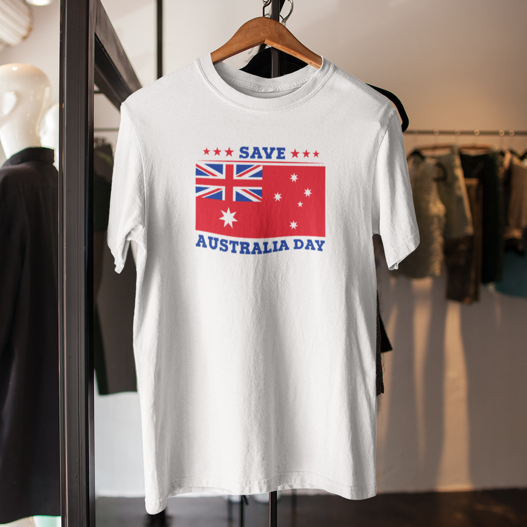 Free Shipping - Save Australia Day 12 - Unisex T-Shirt
