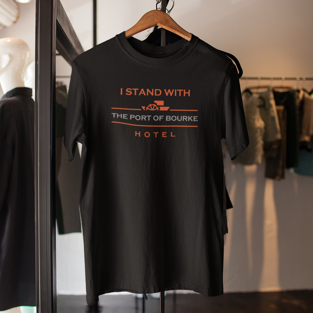 Free Shipping - Port of Bourke Hotel  - Unisex T-Shirt